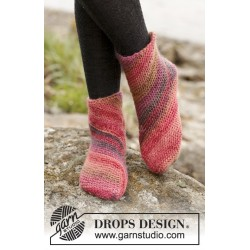 Red Sand by DROPS Design 35-43 DROPS BIG DELIGHT