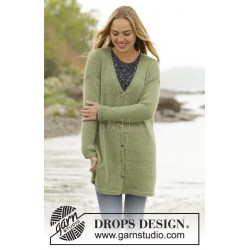 Weekend Walk by DROPS Design S-XXXL DROPS BABYALPACA SILK/DROPS KID-SILK