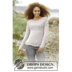 Crystal Bright by DROPS Design S-XXXL DROPS BABYALPACA SILK