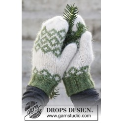 Christmas magic by drops design one size drops air garn tørklæder,