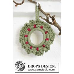 Winterberry by DROPS Design Diameter: ca 8,5 cm. DROPS BELLE