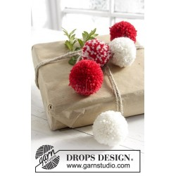 Wrap It Up! by DROPS Design Diameter: ca 5 cm. DROPS KARISMA