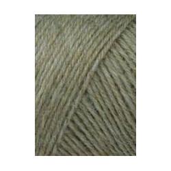 Lang Yarns Jawoll, farve gråbrun, 50g + 5g forstærkningstråd