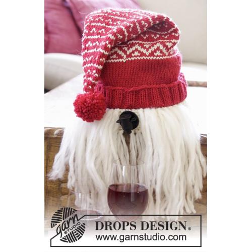 Merrier Christmas by DROPS Design Højde ca 49-53cm. Omkreds ca 47-52cm DROPS NEPAL/DROPS ESKIMO