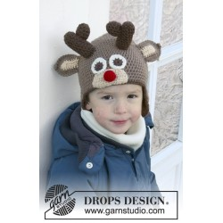 Little Rudolph by DROPS Design 6-10 år DROPS LIMA