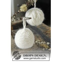Let it Snow by DROPS Design ca 8 cm i diameter DROPS LIMA/DROPS KID-SILK