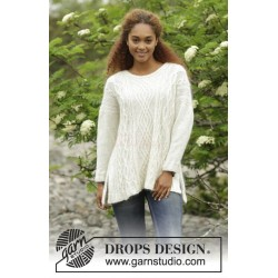 Irish Winter by DROPS Design S-XXXL DROPS ALPACA/DROPS KID-SILK