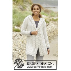 Image of   Melody of snow by drops design xs-xxxl drops melody garn strikkekits