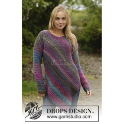 Sideways Glance by DROPS Design S-XXXL DROPS BIG DELIGHT