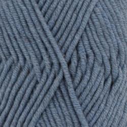 Drops Big Merino UNI 07 jeansblå