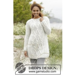 Image of   Diamond bliss by drops design xs-xxxl drops melody garn bluse