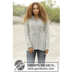 Image of   Arrowhead by drops design s-xxxl drops alaska garn cardigan