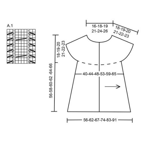Square Off by DROPS Design S-XXXL DROPS ALPACA
