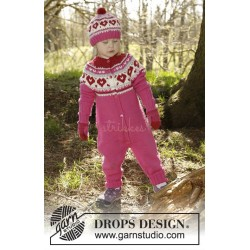 Warmhearted by DROPS Design 12 mdr-6 år DROPS MERINO EXTRA FINE