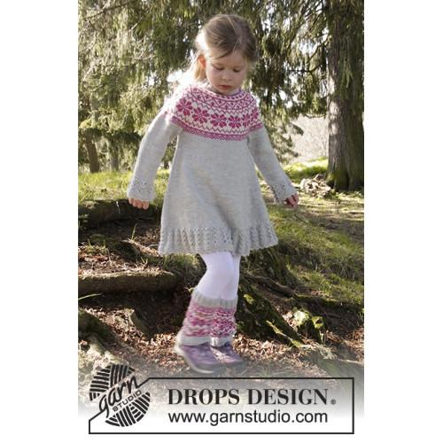 Forest Dance by DROPS Design 3 år-12 år DROPS KARISMA