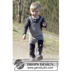 The Little Lumberjack by DROPS Design 1-24 mdr DROPS COTTON MERINO
