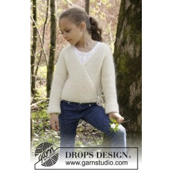 Titania by DROPS Design 3-12 år DROPS ALPACA/DROPS KID-SILK
