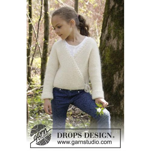 Titania by DROPS Design 3-12 år DROPS ALPACA/DROPS KID-SILK