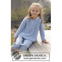 Sweet Bay by DROPS Design 3 år-14 år DROPS BELLE
