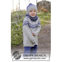 Little Adventure by DROPS Design 3-12 år DROPS MERINO EXTRA FINE