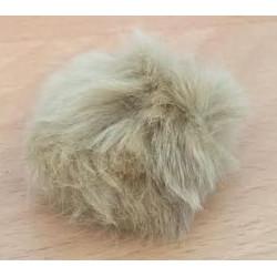 Pompon kanin beige 40 - 60 mm