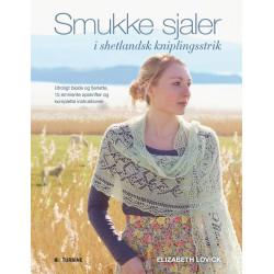 Smukke sjaler i shetlandsk kniplingsstrik af Elizabeth Lovick