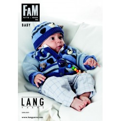 Lang yarns opskrift magasin 196. 42 strikkeopskrifter til babyer