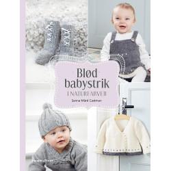 Blød babystrik i naturfarver af Sanna Mård Castman