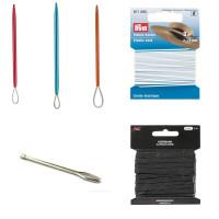 Elastikker, nåle og ophæng