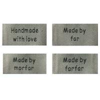 Labels og vaskeanvisninger