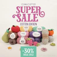 DROPS Supersale - bomuldsudgaven, SPAR op til 35%