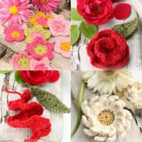 Hæklekits Blomster