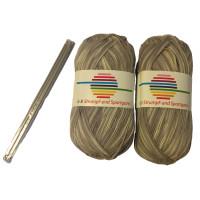 G-B strømpe- og sportsgarn + strømpepinde